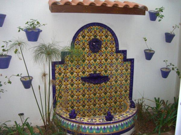 Ceramica artistica fantani de gradina reviaexpert finisaje si amenajari interioare si - Fuentes de pared ...